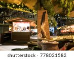 christmas market in lana... | Shutterstock . vector #778021582