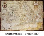 Old Map Of British Islands....