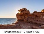 gantheaume point at sunset ... | Shutterstock . vector #778054732