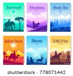 different riders of the world... | Shutterstock .eps vector #778071442