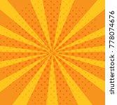 pop art abstract background... | Shutterstock .eps vector #778074676