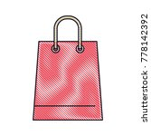 trapezoid shopping bag icon... | Shutterstock .eps vector #778142392