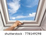 Man Close New Skylight  Mansard ...