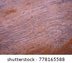 the floor on a piece of old wood | Shutterstock . vector #778165588