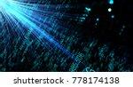 data transmission channel.... | Shutterstock . vector #778174138
