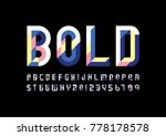 a vector of modern geometric...   Shutterstock .eps vector #778178578