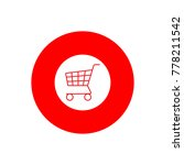 cart shopping icon vector...   Shutterstock .eps vector #778211542