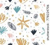 vector  clip art. cute  pattern ... | Shutterstock .eps vector #778224706