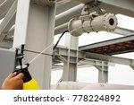 a male technician is doing... | Shutterstock . vector #778224892