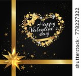 happy valentines day poster... | Shutterstock .eps vector #778227322