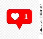 like vector icon | Shutterstock .eps vector #778235482