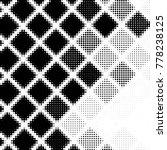 abstract grunge grid polka dot...   Shutterstock .eps vector #778238125