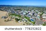 venice beach los angeles... | Shutterstock . vector #778252822