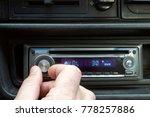 car radio volume | Shutterstock . vector #778257886