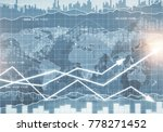 abstract forex background.... | Shutterstock . vector #778271452