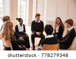 group of teenage students... | Shutterstock . vector #778279348