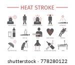 heart attack. symptoms ... | Shutterstock .eps vector #778280122