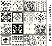 portuguese tiles pattern ... | Shutterstock .eps vector #778283662