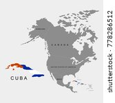 territory of cuba on north... | Shutterstock .eps vector #778286512