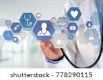view of a medecine and general... | Shutterstock . vector #778290115