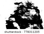 distressed overlay texture.... | Shutterstock .eps vector #778311205