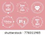 creative vector illustration of ... | Shutterstock .eps vector #778311985