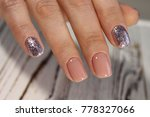 youth manicure design ... | Shutterstock . vector #778327066