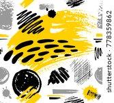 creative seamless pattern.... | Shutterstock .eps vector #778359862