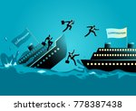 business concept vector... | Shutterstock .eps vector #778387438
