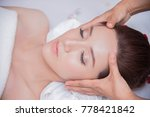 spa facial face  treatment... | Shutterstock . vector #778421842