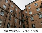 old building fragment. old... | Shutterstock . vector #778424485