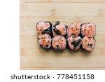 Eel Sushi Maki Unagi Roll Set...