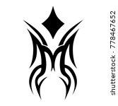 tattoo tribal vector design.... | Shutterstock .eps vector #778467652