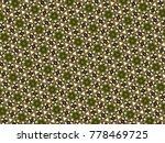 multicolor mosaic pattern... | Shutterstock . vector #778469725