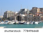 seaport of heraklion | Shutterstock . vector #778496668