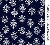 geometric ethnic pattern... | Shutterstock .eps vector #778509892