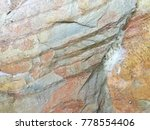 stone texture background  | Shutterstock . vector #778554406