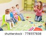 games in kindergarten   Shutterstock . vector #778557838