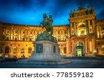 statue of emperor joseph ii.... | Shutterstock . vector #778559182