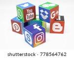 kazan  russia   december 20 ... | Shutterstock . vector #778564762