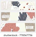 hand drawn creative universal... | Shutterstock .eps vector #778567756
