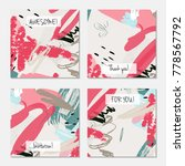 hand drawn creative universal... | Shutterstock .eps vector #778567792