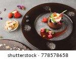 exquisite restaurant mousse...   Shutterstock . vector #778578658