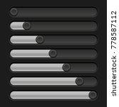 black slider bar. settings on...