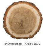 large circular piece of wood | Shutterstock . vector #778591672