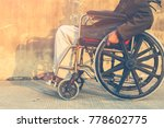 wheelchairs for the elderly use ... | Shutterstock . vector #778602775