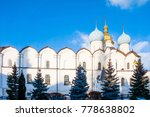 cathedral of the annunciation... | Shutterstock . vector #778638802