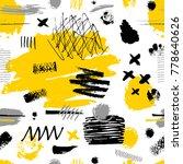 creative seamless pattern.... | Shutterstock .eps vector #778640626
