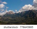 mountain valley at sunset | Shutterstock . vector #778645885