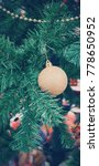 christmas tree decoration | Shutterstock . vector #778650952